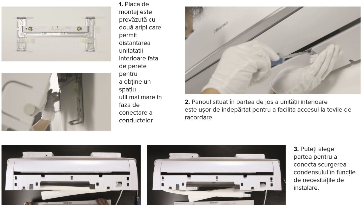 Aparat de aer conditionat tip split Hisense Mini Apple Pie, Inverter, R32 , A++, Wifi Ready 10